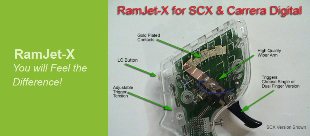 RamJet-X for SCX and Carrera Digital Systems